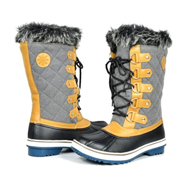 20 percent off high rated snow boots