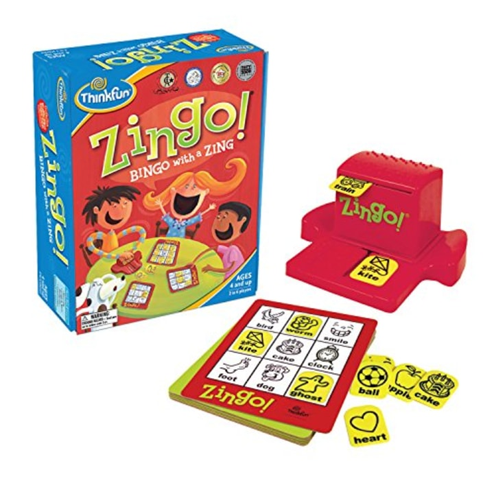 thinkfun zingo bingo game - Best Christmas Gifts For 4 Year Old Boy