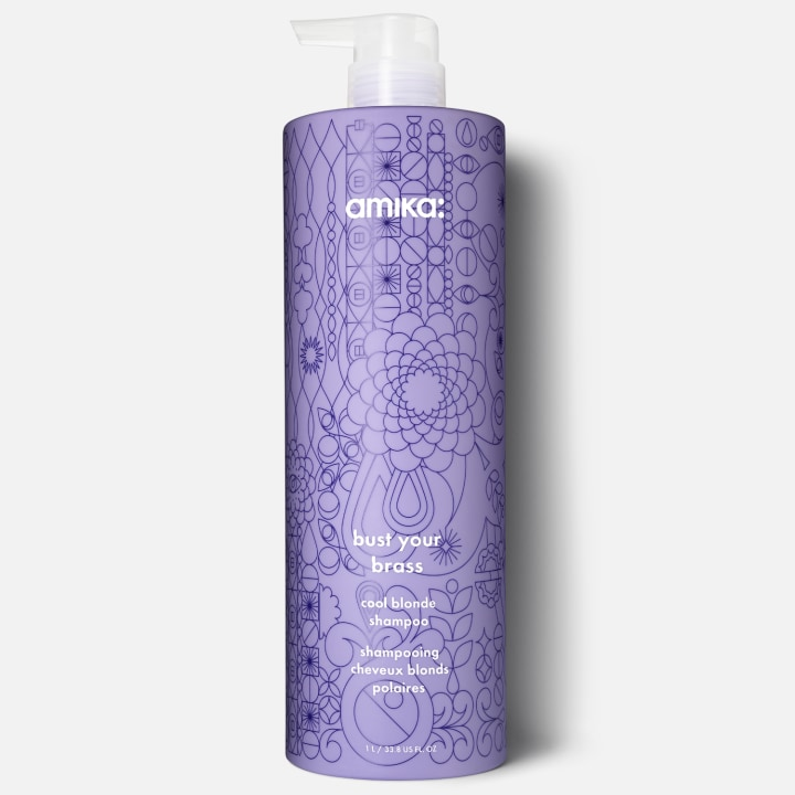 Amika Bust Your Br Cool Blonde Shampoo
