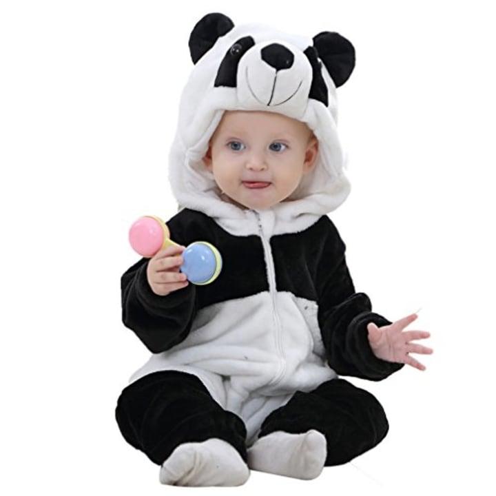 idgirl baby unisex romper panda