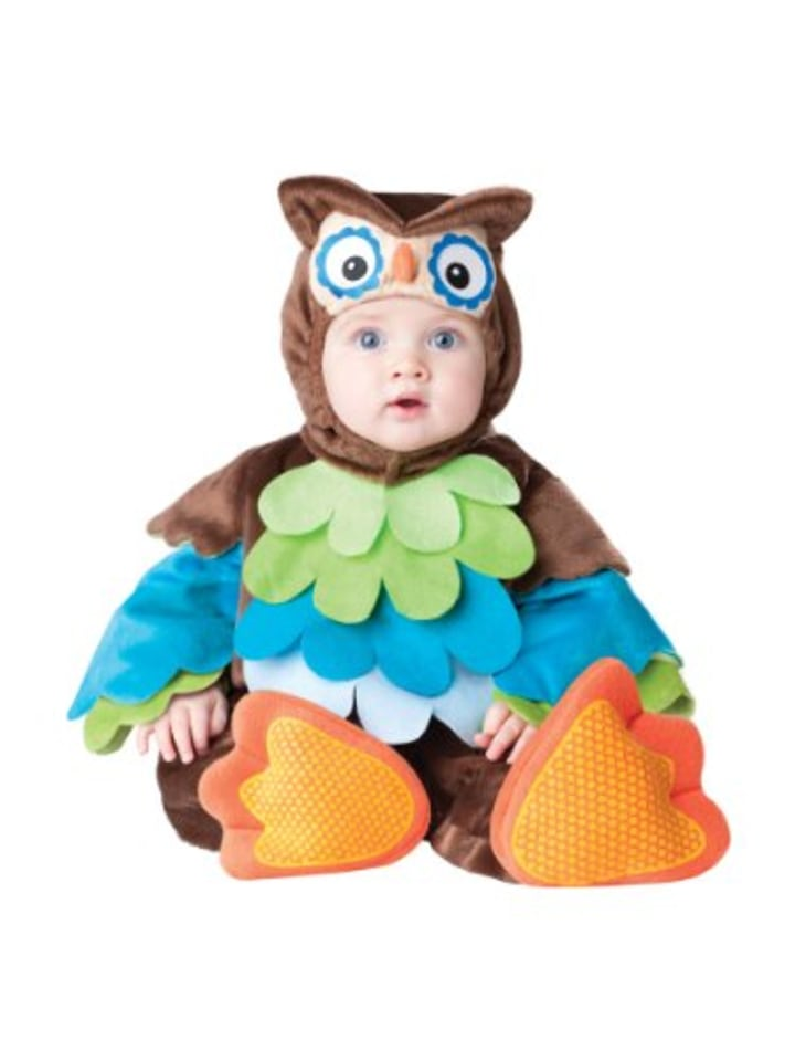 incharacter owl costume