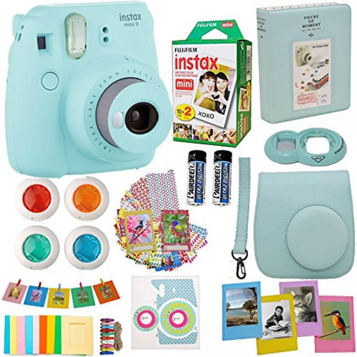 fujifilm instax mini 9 instant camera bundle - Best Christmas Gifts For Tweens