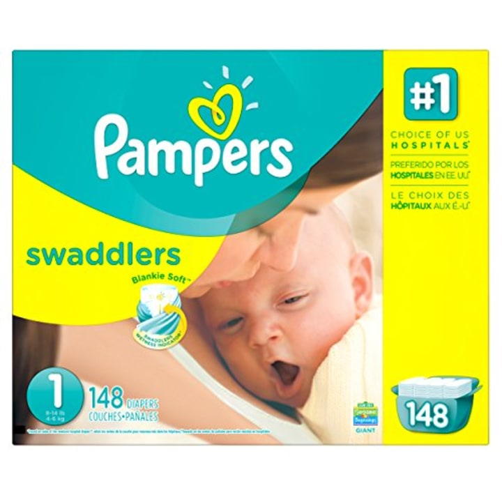 Pampers Swaddlers Disposable Diapers Newborn Size 1