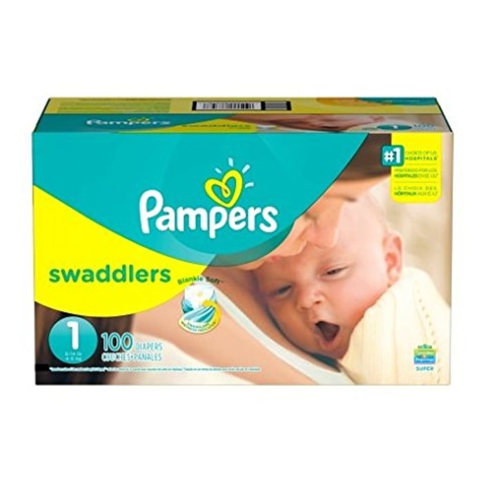 Pampers Swaddlers Diapers Newborn Size 1 8 14 Lb