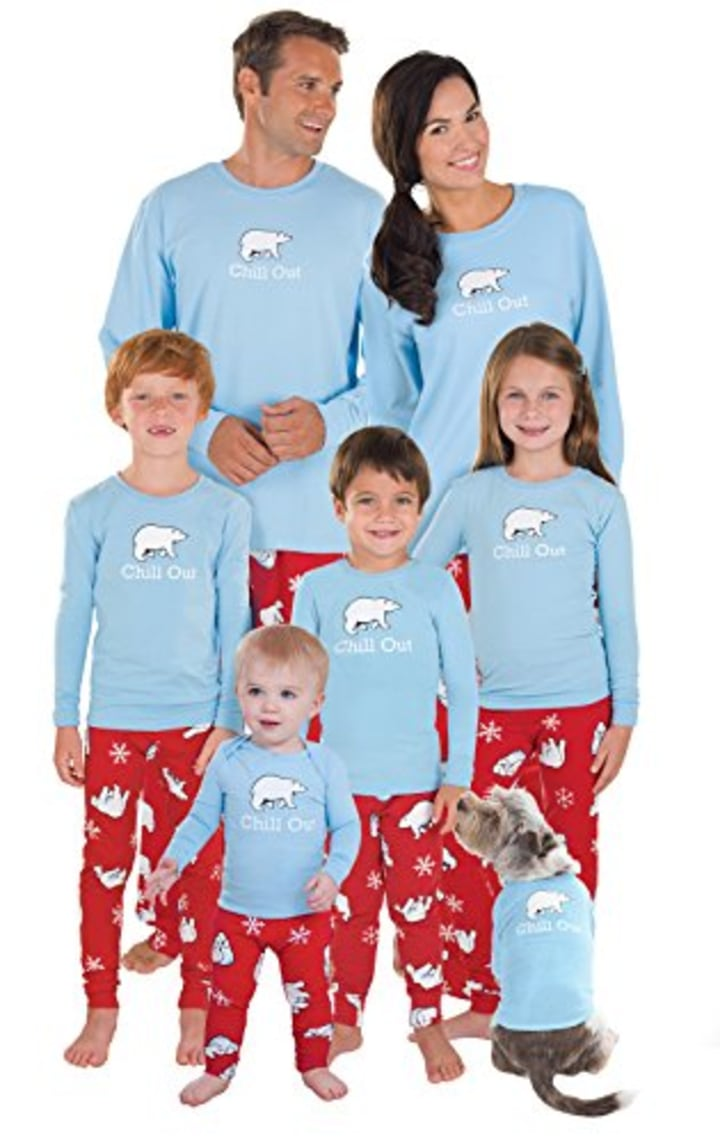 12 best matching family pajama sets for Christmas or Hanukkah 2018 1bdd478d1