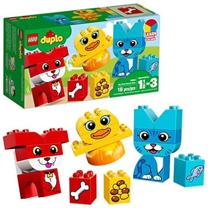 LEGO DUPLO My First Puzzle Pets 10858 Building Blocks 18 Piece