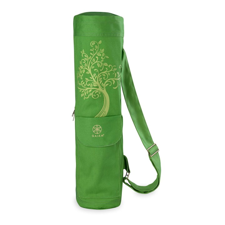 gaiam cargo yoga mat bag tree of wisdom