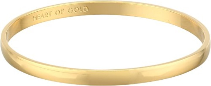 Kate Spade Heart Of Gold Bangle Bracelet