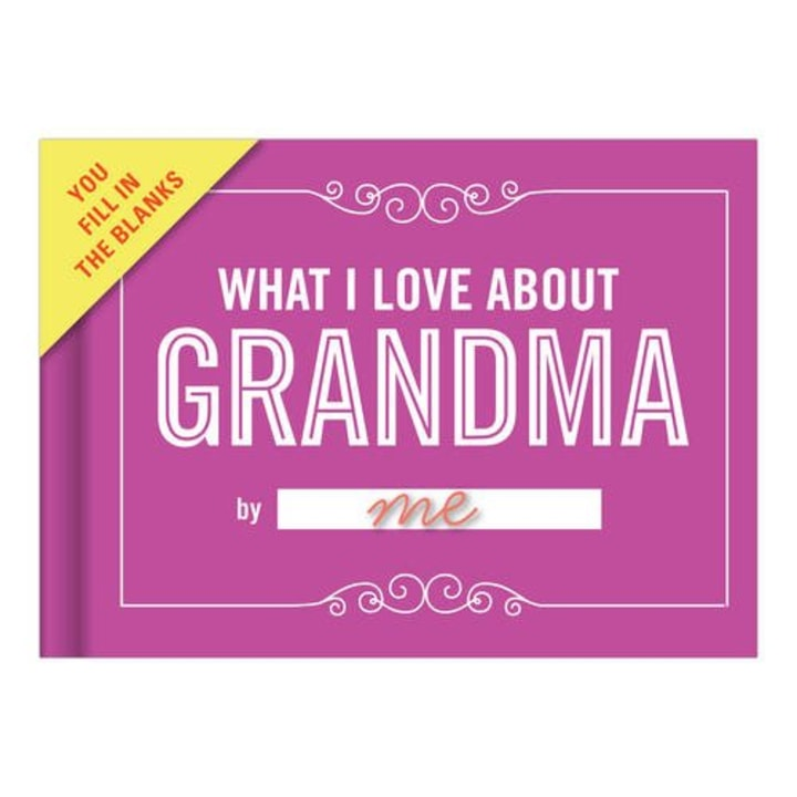 Knock What I Love About Grandma Journal