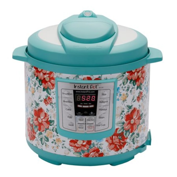 Instant Pot Pioneer Woman LUX60 Vintage Floral 6 Qt In 1 Multi Use Programmable Pressure Cooker Slow Rice Saute Steamer And Warmer