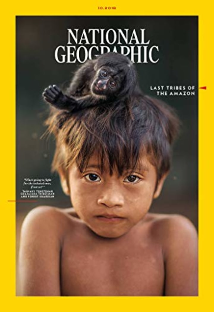 National Geographic One Year Subscription