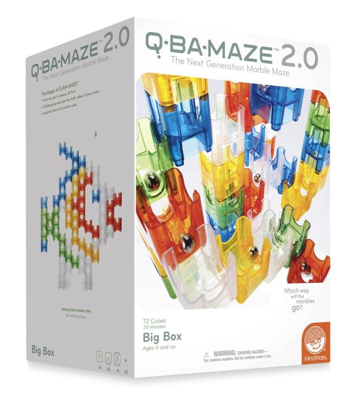 Stem Building Set Age  Q Ba Maze   Big Box