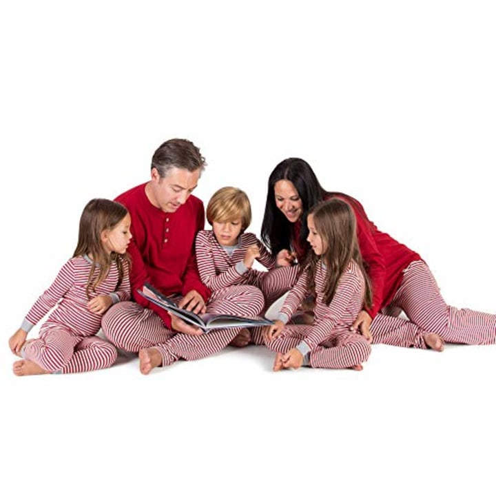 b4a41fdbe4 Burt s Bees Candy Cane Stripe Jammies ·  13. Amazon. These PJs are made of  soft organic cotton that you ll want to wear all day. My family did!