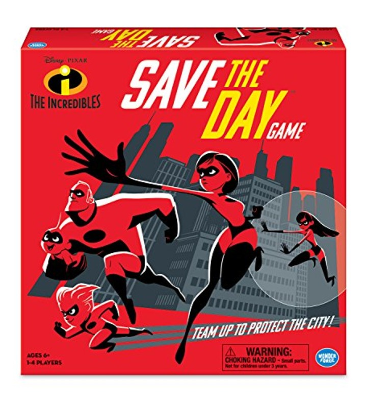 Wonder Forge The Incredibles Save Day Game Board