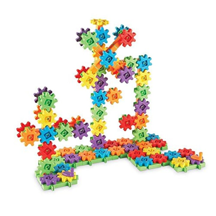 Learning Resources Gears Super Building Set 150 Pieces