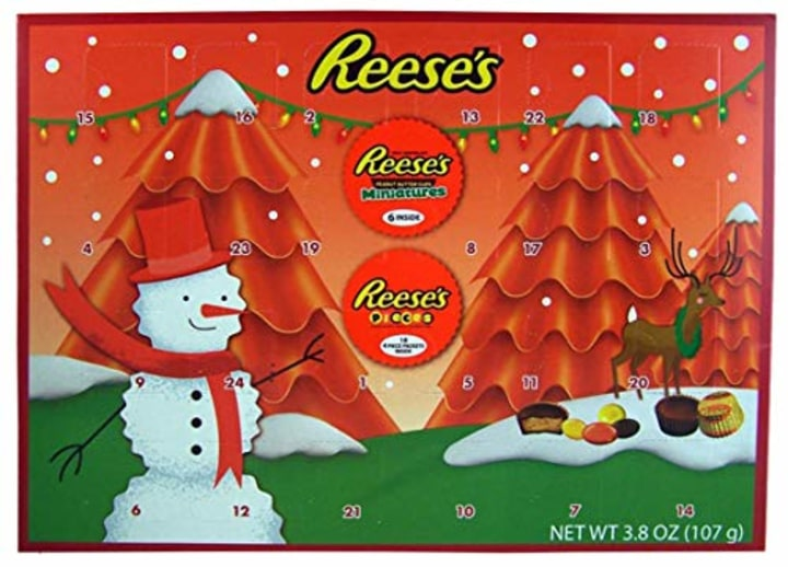 5a41967bf6d 2018 Reese s Holiday Countdown Christmas Advent Calendar