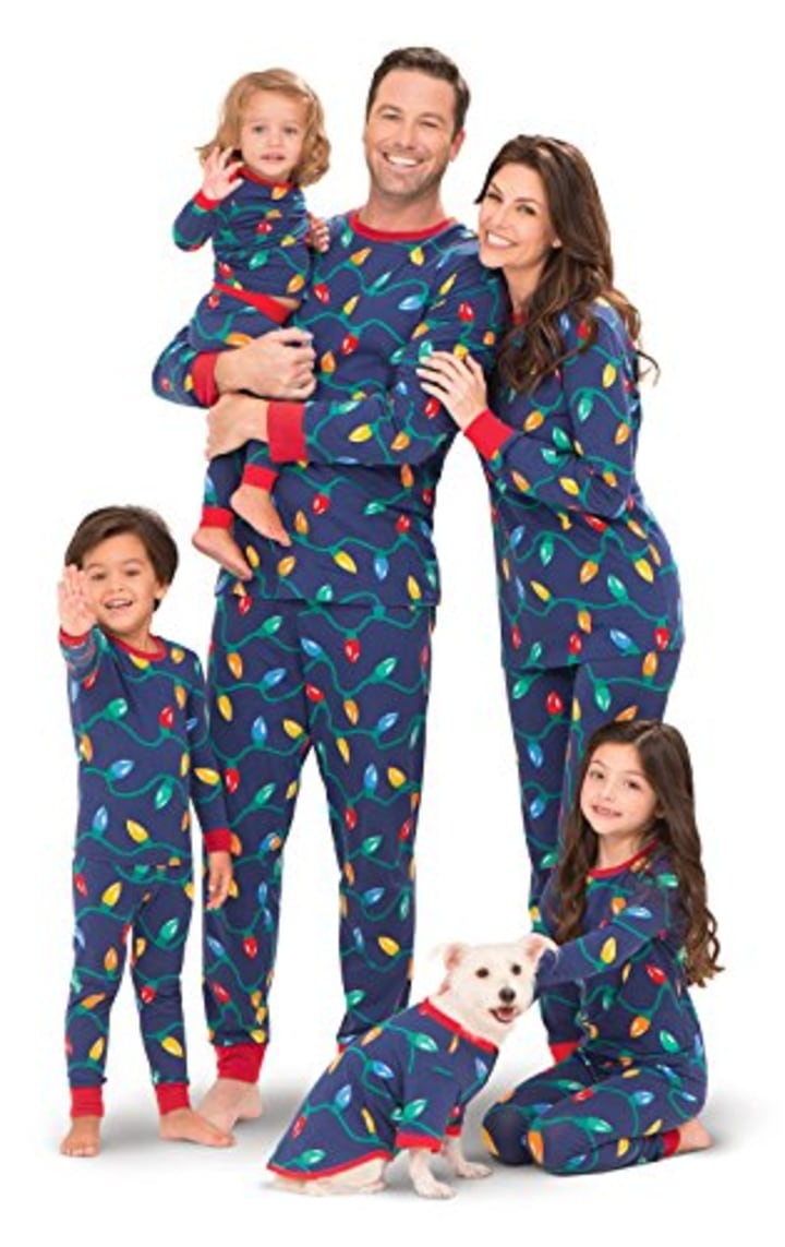 Dog pajamas allow owners to curl up with their pets in matching outfits b6c709f75