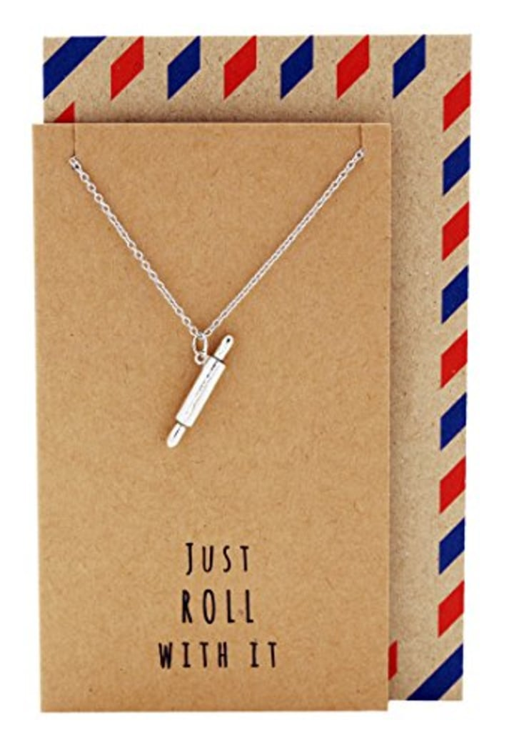 Quan Jewelry Rolling Pin Necklace