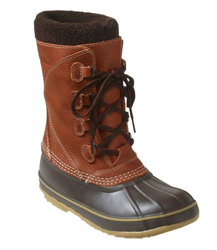 fde0dd9998a6 L.L. Bean Snow Boots with Tumbled Leather