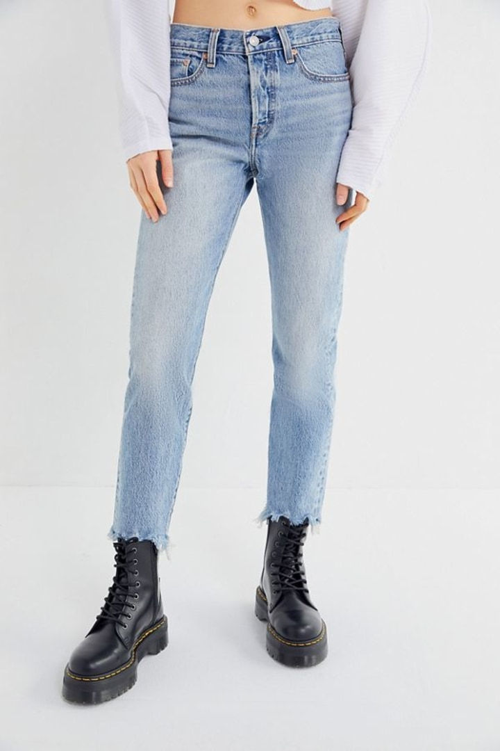 c1ec7d1caf0 What style of jeans are in? The top 7 denim trends of 2019