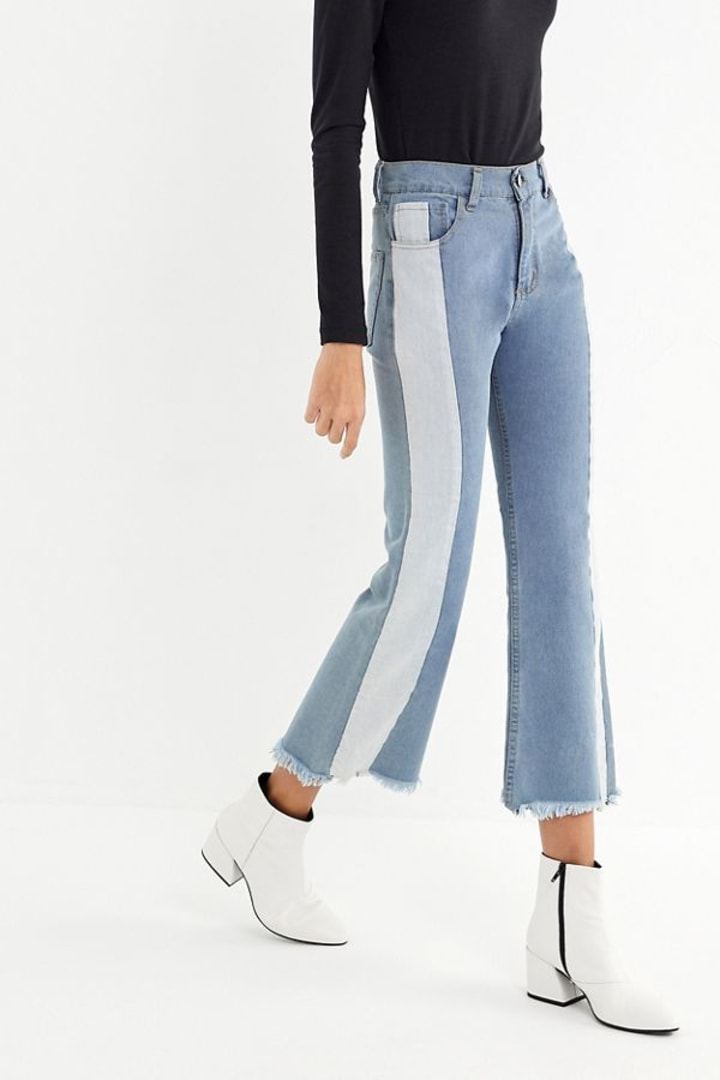 41081366dc0 What style of jeans are in? The top 7 denim trends of 2019