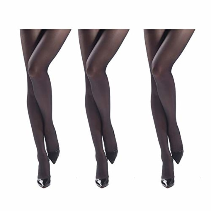 9bb758dc2fb Jiayi Women s Sheer To Waist Sexy Silk Pantyhose Tights