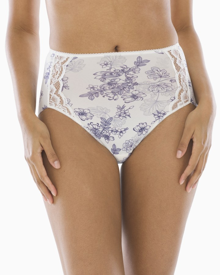 2449ef16925d6 Vanishing Edge Microfiber With Lace Modern Brief