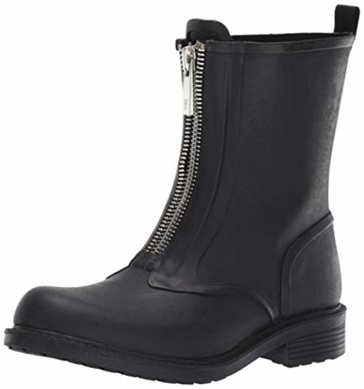 3d1c6cf68 FRYE Women s Storm Zip Rain Bootie Boot