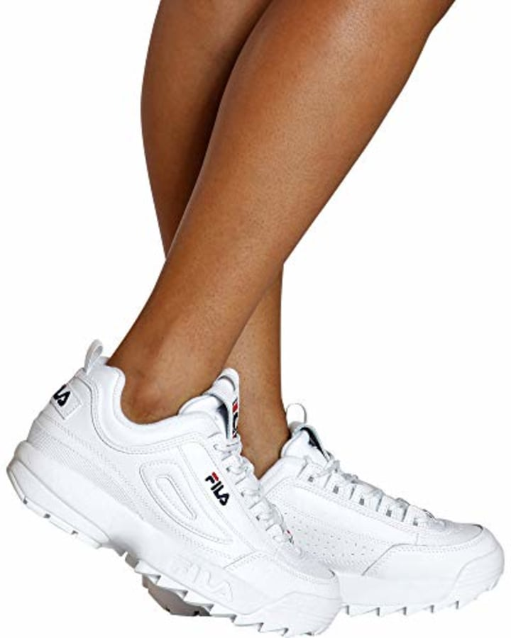 ad7fedfbf91b Fila Women's Disruptor II Premium Sneakers