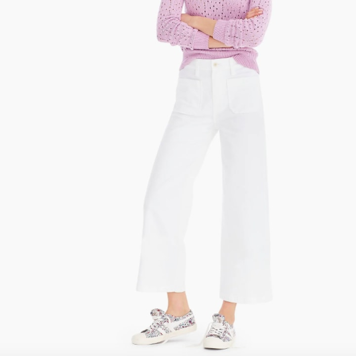 10 of the best white pants for women 2019