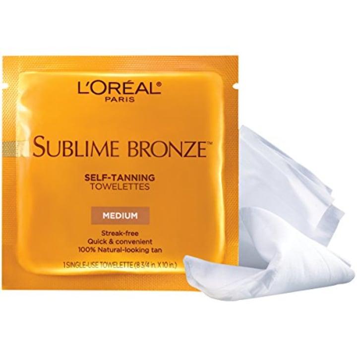 7702178d332c L Oréal Paris Sublime Bronze Self-Tanning Towelettes