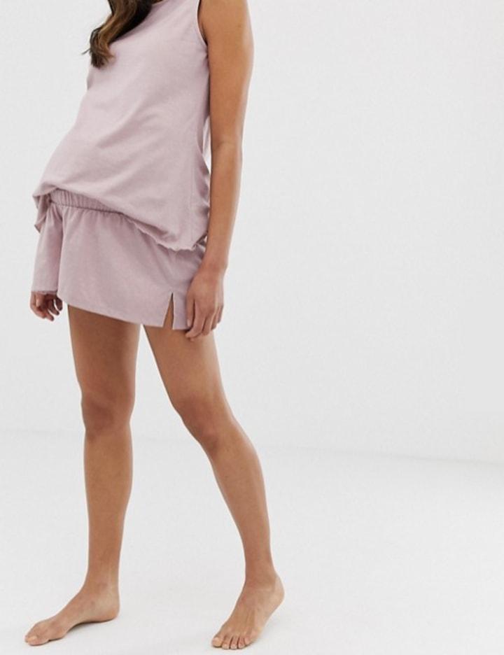 309d2d1a25cc4 Asos Design Maternity Mix & Match Pyjama Flippy Jersey Short