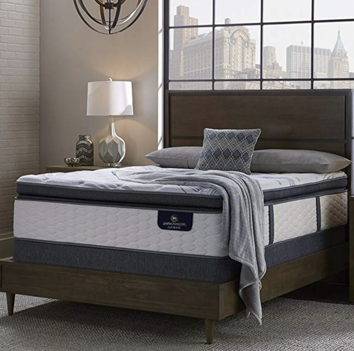 Serta Perfect Sleeper Elite Plush Super Pillow Top Mattress