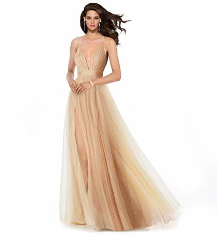 Exploding Stars Prom Dress