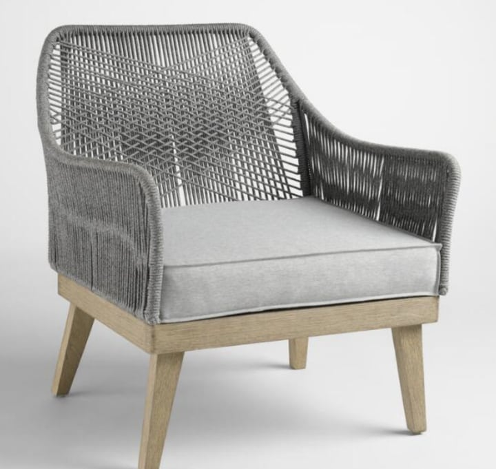 Delicieux Gray Rapallo Outdoor Occasional Chair · $299.99. World Market