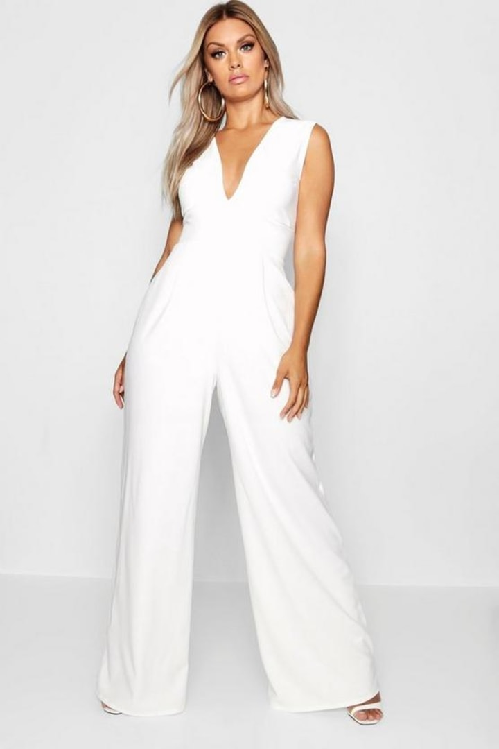 10 best women's plus size jumpsuits 2019