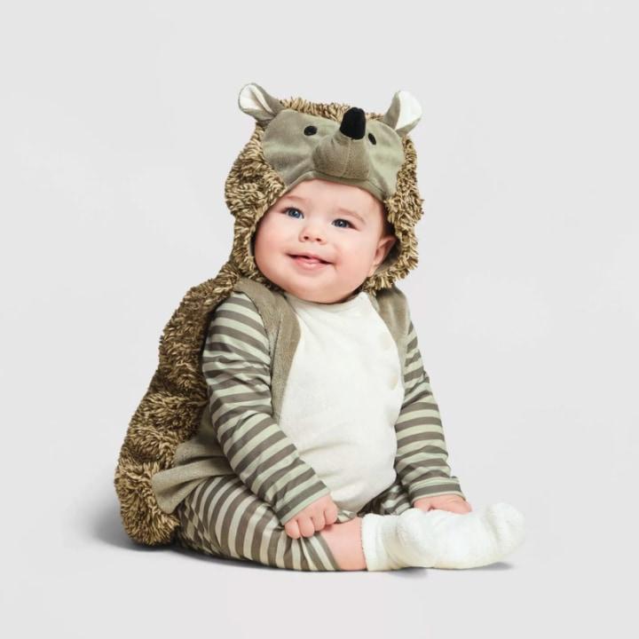 Hedgehog girl costume  Toddler Costume  Kids Costume  hedgehog dress up  animal costume handmade costume  Halloween costume
