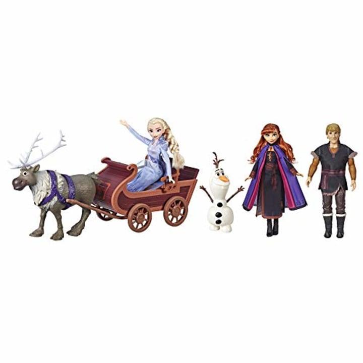 NEW 2019 Disney Frozen 2 Nokk And Elsa Pack Kids Toy Play Gift Doll Pony Horse