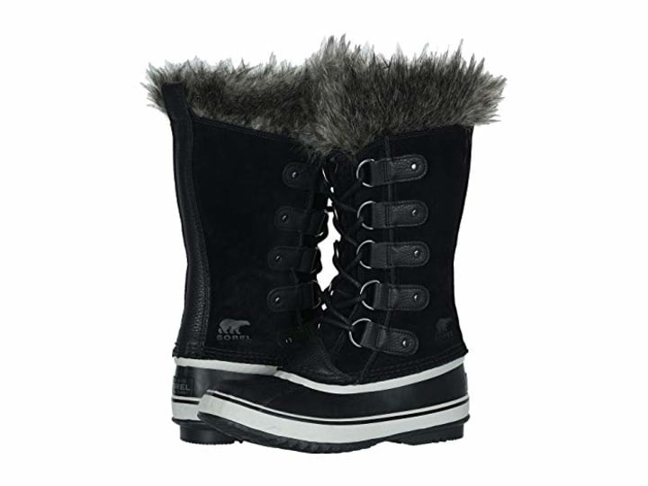 Girls Women Shoes Autumn Winter Warm Snow Boots Shiny Upper Fur Lining Non-slip