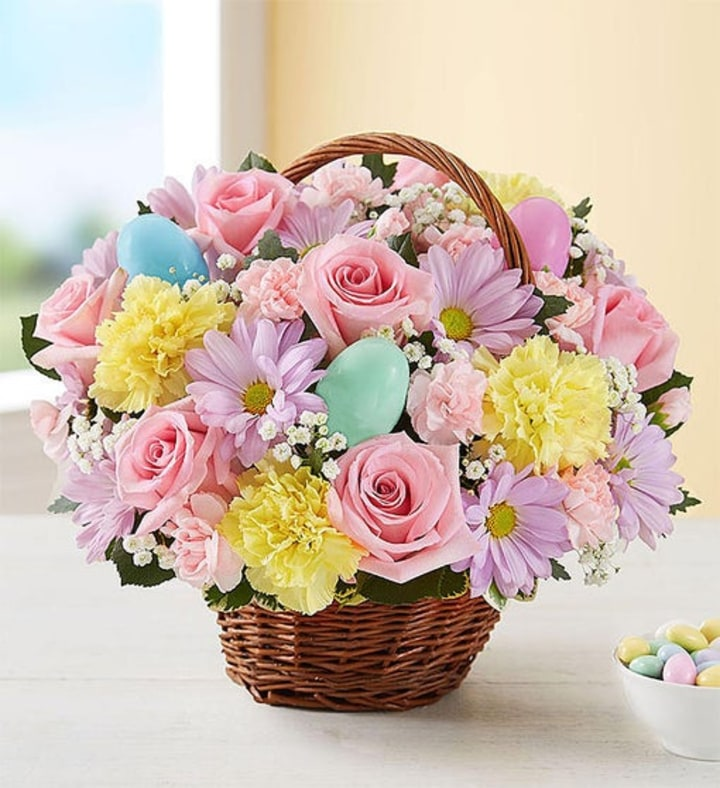 7 Easter Flower Arrangements To Send To Your Loved Ones