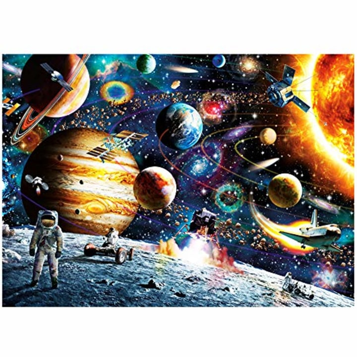 Italian Love sea Puzzles 1000 Piece Jigsaw Puzzles for Kids Adults Indoor Home Educational Intellectual Decompressing Fun Games