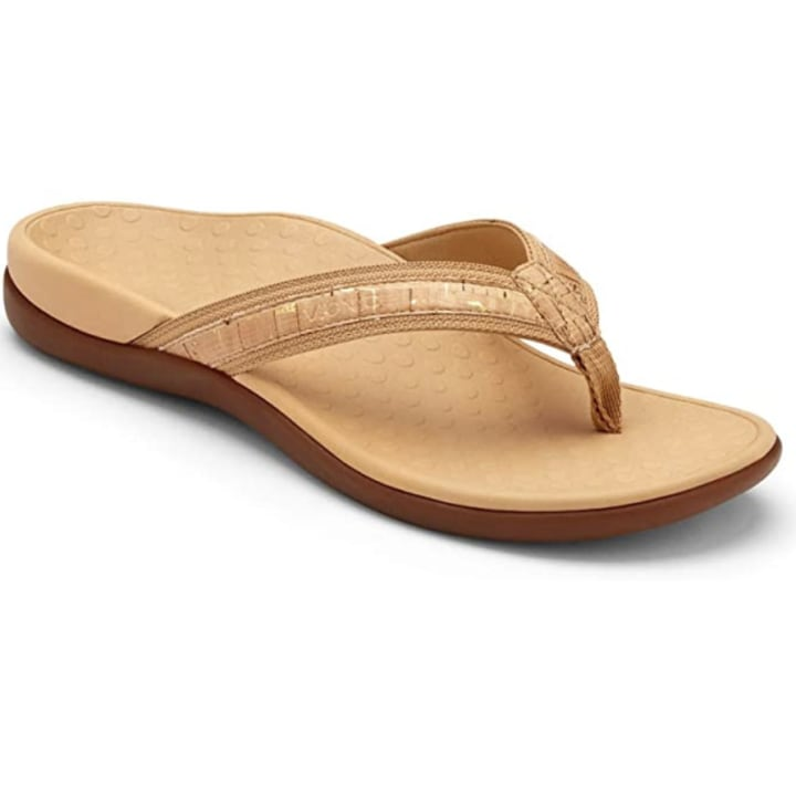 Armfre Womens Wide Classic Flip Flops Solid Color Slip on Flats Slim Strap Beach Summer Casual Sandals