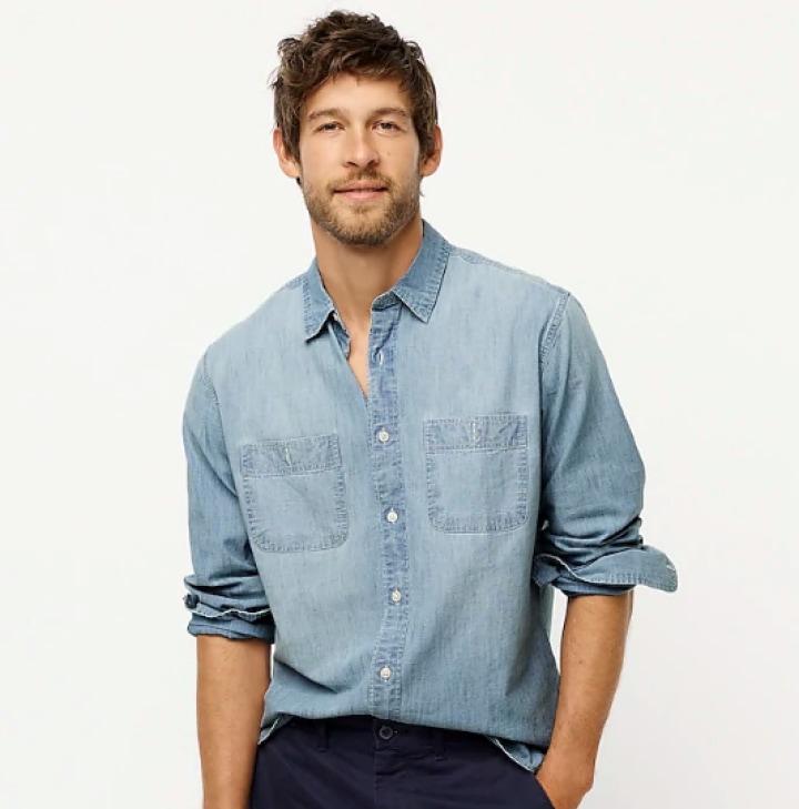 Modern Mens Casual Turn-down Collar Slim Shirts Long Sleeve Shirt Blouse Tops