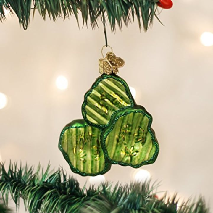 Details about  /Fraggle Rock Boober /& Wembley in Pickle Car Christmas Ornament