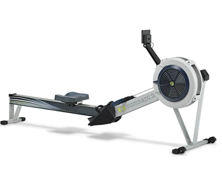 Rowing Machine Home Exercise Equipment Stamina Fitness Cardio Workout Gym UK J