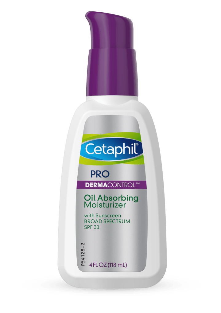 cetaphil pro dermacontrol oil absorbing moisturizer pump front