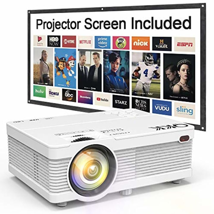 I bought a projector and I don't think I will broadcast on TV again