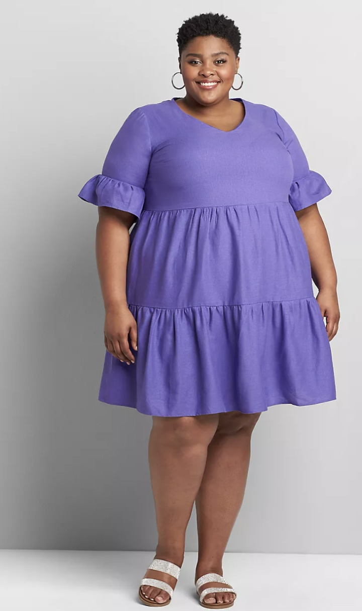 Buy purple sundress plus size> OFF 18