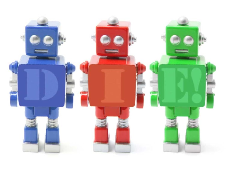 "Robots are ""little computers and in some cases, little mobile computers with webcams,"" says Tamara Denning, lead author of a study about potential robot dangers when control of the bots falls into the wrong hands."