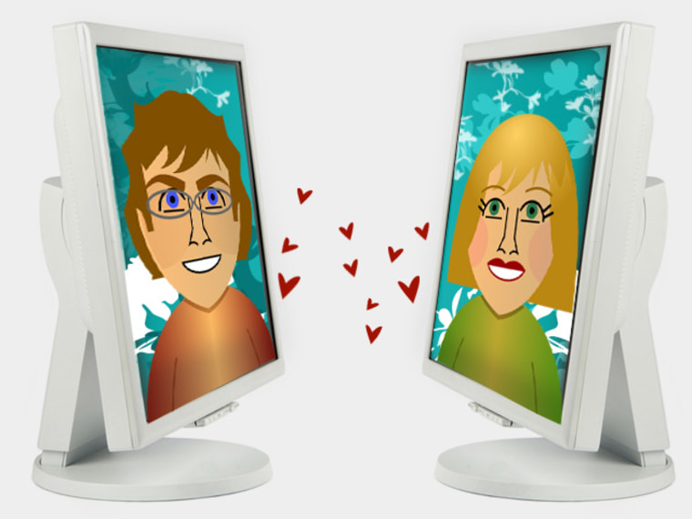 If you can't be with the one you love, log onto Facebook. Or Skype. Or Second Life.